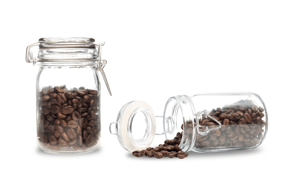 Store Coffee in Coffee Storage Container