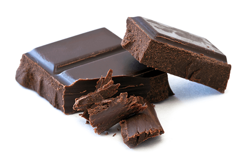 dark chocolate counteracts coffee jitters